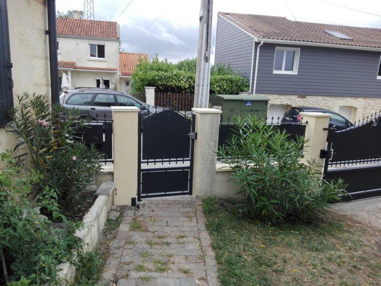 Réfection portail acier Gironde