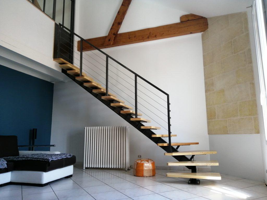 Escalier limon central IPN